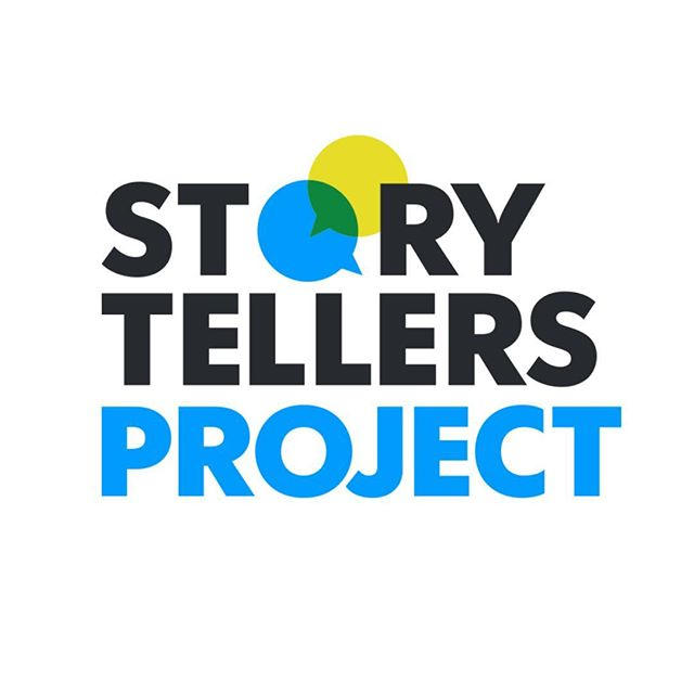 Graphic Image Of Storytellers Project