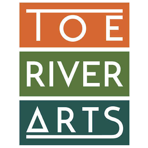 Graphic of Toe River Arts Logo