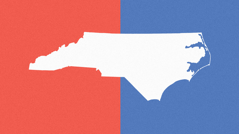 Graphic Image Of The State Of North Carolina
