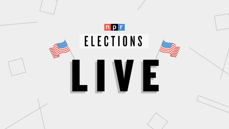 Graphic of the words Elections LIVE