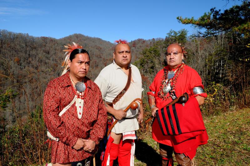 Eastern Band Cherokee on Blue Ridge Parkway