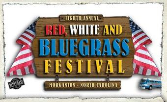 Red White and Bluegrass Festival promo