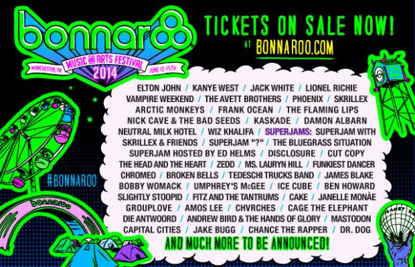 Bonnaroo tickets on sale now