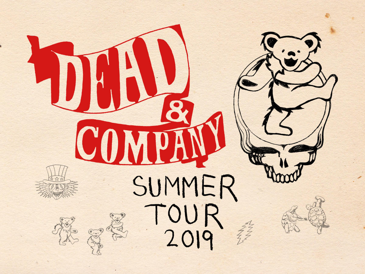 dead company announce 2019 summer tour wncw. Black Bedroom Furniture Sets. Home Design Ideas