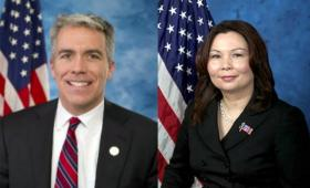 8th District Congressman Joe Walsh and Democratic challenger Tammy Duckworth.