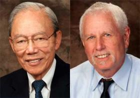 Search Committee Co-Chairs Robert Boey and Alan Rosenbaum