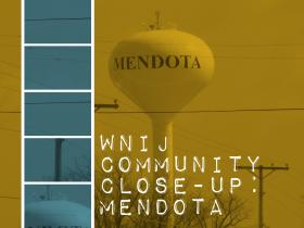 A new water tower is one of the infrastructure improvements the city of Mendota is making to attract new businesses.