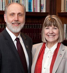 Doug Baker and Dana Stover