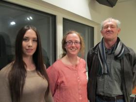 Rachel Moran, Liz Rex and M. Cecil Smith