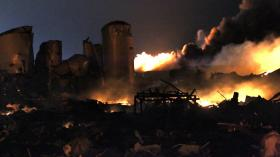 The deadly explosion ripped through a fertilizer plant near Waco, Texas, Wednesday night. Dozens of people were injured and an unknown number killed.