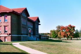 Hall High School in Spring Valley was built in 1914. There have been numerous additions and renovations over the decades, but much of the basic structure remains as it was almost 100 years ago.