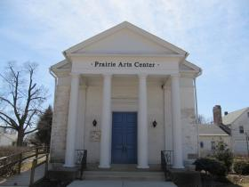 The Prairie Arts Council building in Princeton, IL