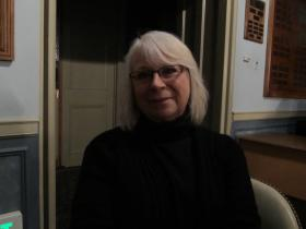 Prairie Arts Council President Deb Young