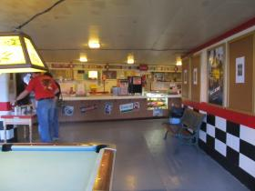 Route 34 Drive-in concession stand
