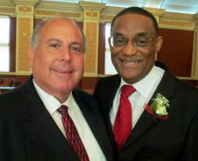 Myron Siegel and Eddie Williams.