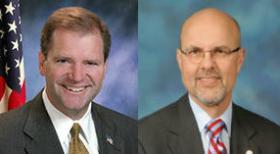 Sen. Bill Brady and Sen. Dave Koehler