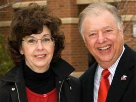 Barbara Cole Peters and John Peters