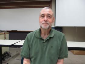 RVC Professor Steve Fleeman, Chair of the college's Sustainable Energy Systems program