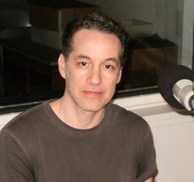 Joe Bonomo in the WNIJ studios.