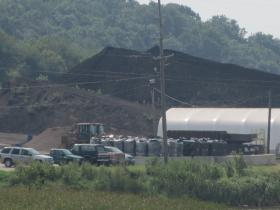 A look at a peat mining facility in Whiteside County