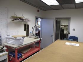 One of the rooms used by the costume shop. Another room used by the shop is only accessible through this one.
