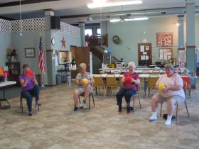 Fit For Life Exercise Class at the Polo Senior Center