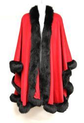 Fur-trimmed cape among Jesse Jackson, Jr's possessions being auctioned by U.S. Marshals.