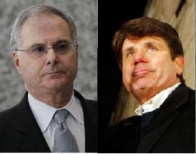 Stuart Levine, left, and Rod Blagojevich