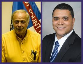 Republicans Ron Severson and John Anthony are seeking their party's nomination in next week's primary election.