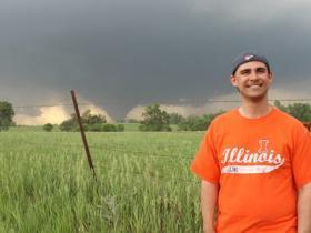 Meteorologist Jeffrey Frame