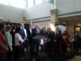 Governor Quinn at NIU