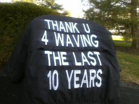 "Richard's ""thank-you"" jacket"