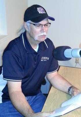 Gary Lawrence in the WNIJ studios.