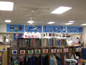 Inside the Children's Learning Center
