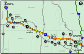 28 Illinois Tollway Map | Pics Photos Map Of Illinois ...