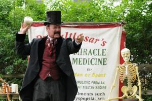 Dr. Balthasar's Miracle Medicine Shows