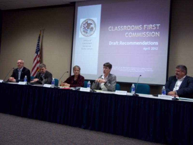 Classrooms First Commission Rockford Public Hearing
