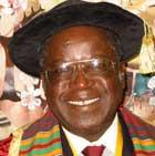Dr. Rukudzo Murapa, Vice Chancellor of Africa University in Zimbabwe
