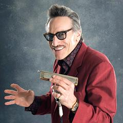 Rick Estrin, leader of the Night Cats.