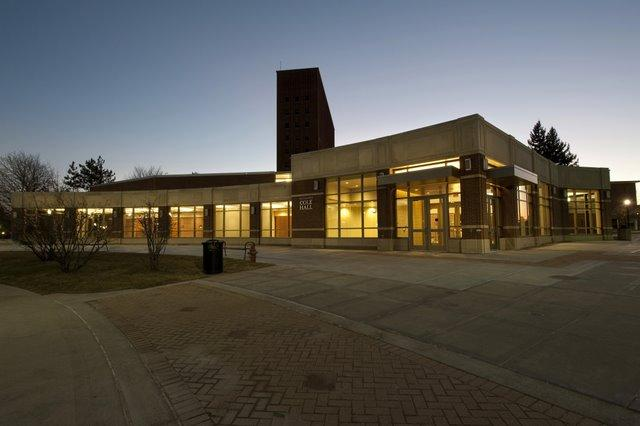 Northern Illinois University's new Cole Hall