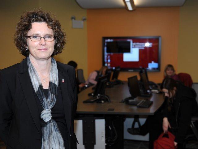 NIU Assistant Dean Lesley Rigg