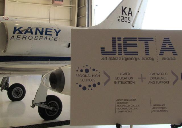 JiET A, a new aerospace training collaboration, is introduced May 24th in Rockforard