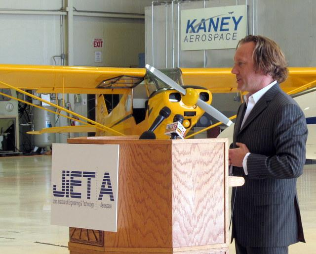 Jeff Kaney is the head of Kaney Aerospace and chairs the Rockford Area Aerospace Network.