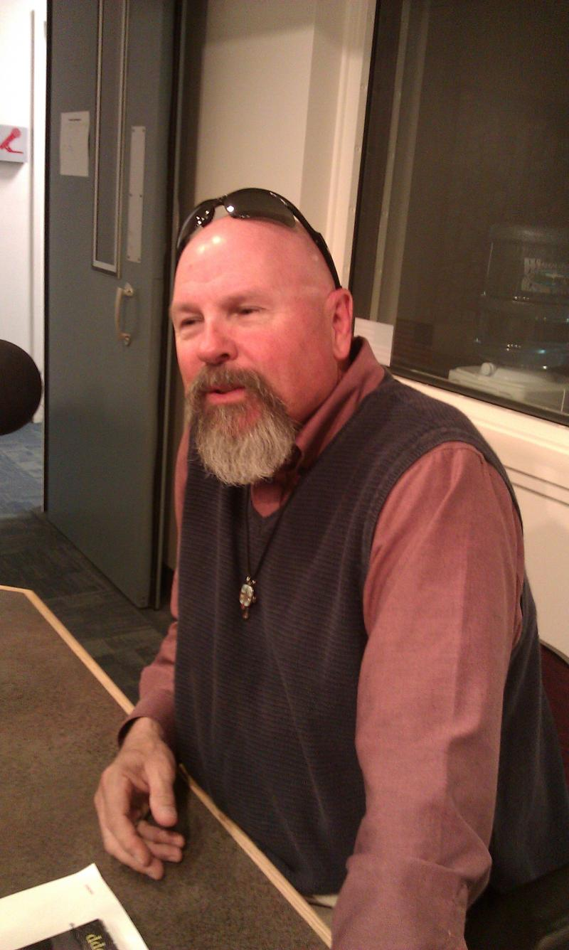 "Rev. Robert Kopp visits WNIJ to discuss his book ""I Just Wanna Ride."""