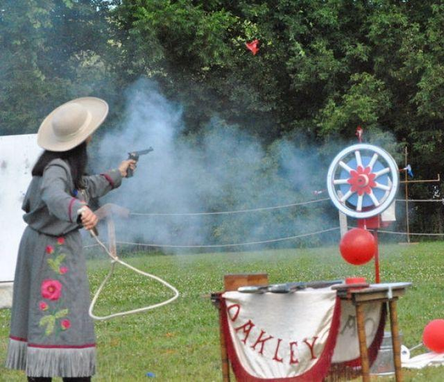 Annie Oakley of the Great Lakes