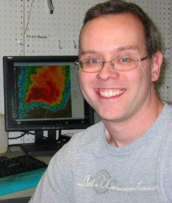 Northern Illinois University meteorologist Gilbert Sebenste