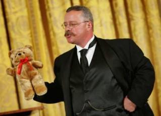 Joe Wiegand as Teddy Roosevelt