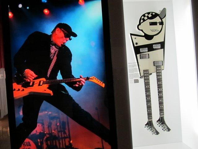 Rick Nielsen embodied in a guitar.