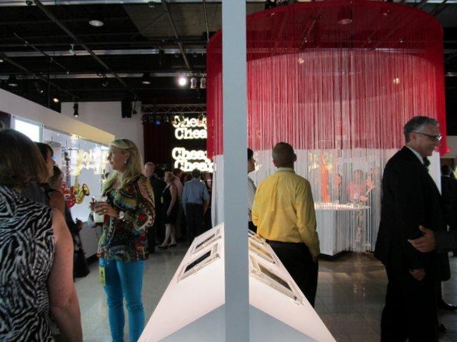 """Fans explore the new exhibit, """"Rick's Picks,"""" at Burpee Museum of Natural History"""