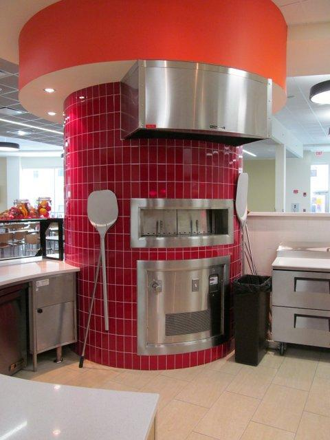 Does YOUR dorm have a pizza oven? NIU's newest one does as part of its food court.